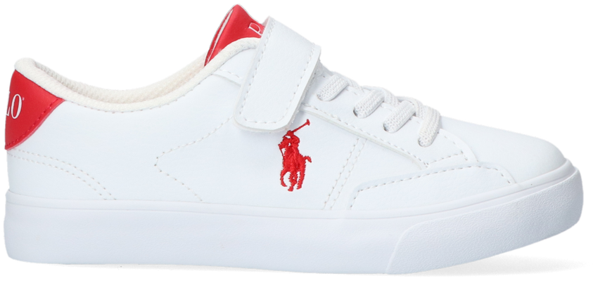 Witte POLO RALPH LAUREN Lage sneakers THERON IV PS  - larger