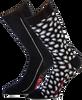 Zwarte MARCMARCS Sokken BARBARA COTTON - small