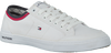Witte TOMMY HILFIGER Sneakers CORE CORPORATE TEXTILE SNEAKER - small
