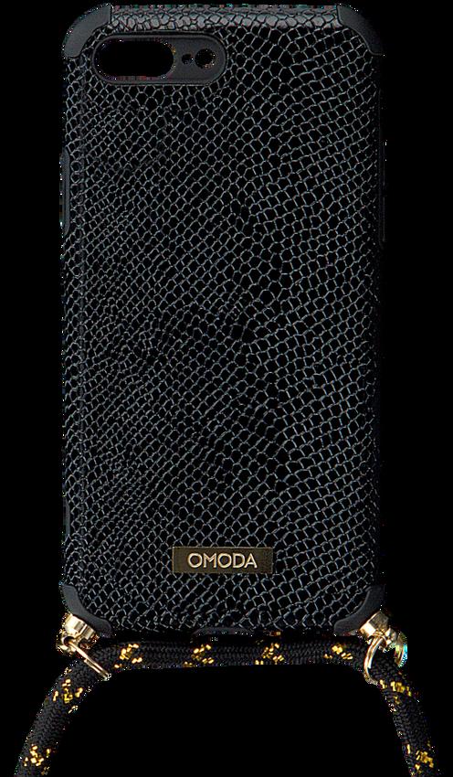 Zwarte OMODA Telefoonkoord 7+/8+ IPHONE KOORD  - larger
