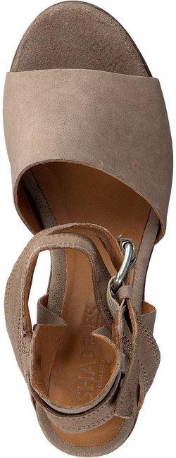 Taupe SHABBIES Sandalen 163020013 - large