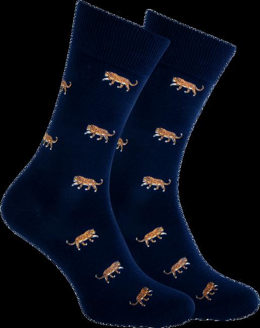 Blauwe MARCMARCS Sokken RED DALLAS  - large