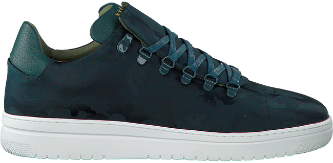 Groene NUBIKK Sneakers YEYE CAMO MEN  - large