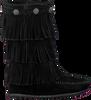 Zwarte MINNETONKA Lange laarzen 2659  - small