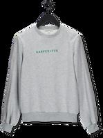 Lichtgrijze HARPER & YVE Sweater YOANN-SW
