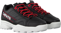 Zwarte LEVI'S Lage sneakers SOHO  - medium