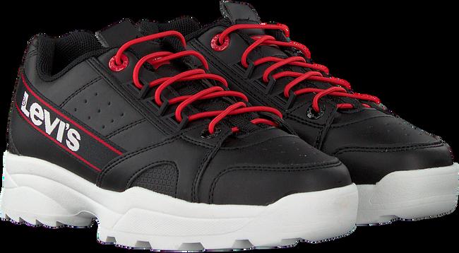 Zwarte LEVI'S Lage sneakers SOHO  - large