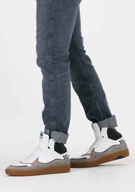Witte FLORIS VAN BOMMEL Hoge sneaker 20371  - large