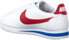 Witte NIKE Sneakers CLASSIC CORTEZ LEATHER WMNS  - small