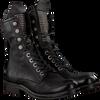 Zwarte A.S.98 Biker boots 207245 101 6002 SOLE VERTI - small