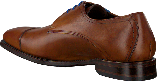 Cognac VAN BOMMEL Nette schoenen 14370 - large