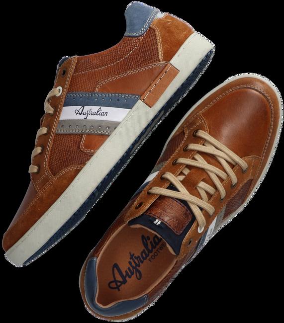 Cognac AUSTRALIAN Lage sneakers LOMBARDO  - large