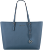 Blauwe MICHAEL KORS Shopper MD TZ MULT FUNT TOTE - small