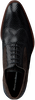 Zwarte FLORIS VAN BOMMEL Nette schoenen 19104  - small