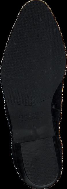 Zwarte HASSIA Enkellaarsjes 6742  - large