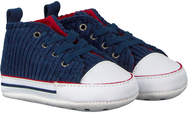 Blauwe CONVERSE Babyschoenen CHUCK TAYLOR ALL STAR FIRST ST - large