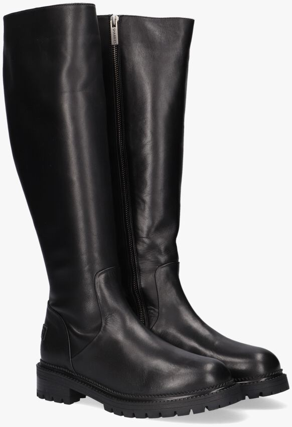 Zwarte SHABBIES Hoge laarzen 192020127  - larger