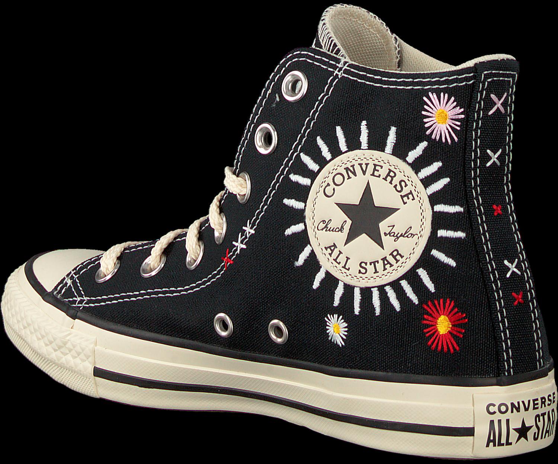 Zwarte CONVERSE Hoge sneaker CHUCK TAYLOR ALL STAR HI | Omoda