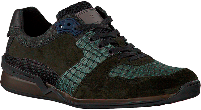 Groene FLORIS VAN BOMMEL Sneakers 16213  - large