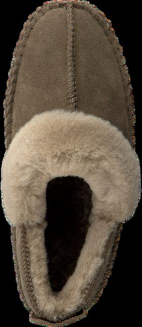 Groene WARMBAT Pantoffels POLARFOX WOMEN SUEDE - large