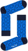 Blauwe HAPPY SOCKS Sokken LOVE LINE - small