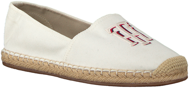 Witte TOMMY HILFIGER Espadrilles NAUTICAL TH BASIC  - large