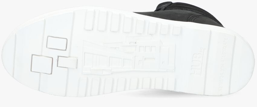 Zwarte HUB Veterboots DUBLIN  - larger