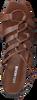 Bruine LOLA CRUZ Sandalen 341Z10BK  - small