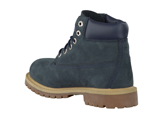 Blauwe TIMBERLAND Enkelboots 6IN PRM WP BOOT KIDS  - large