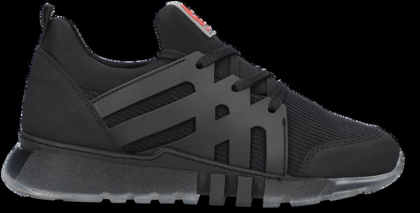 Zwarte RED-RAG Lage sneakers 13557  - larger