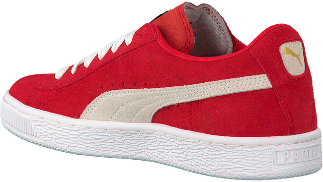 Rode PUMA Sneakers SUEDE JR - large