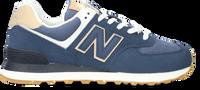 Blauwe NEW BALANCE Lage sneakers WL574  - medium