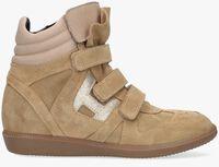 Beige HIP Hoge sneaker H1556  - medium