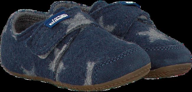 Blauwe LIVING KITZBUHEL Pantoffels 2856  - large