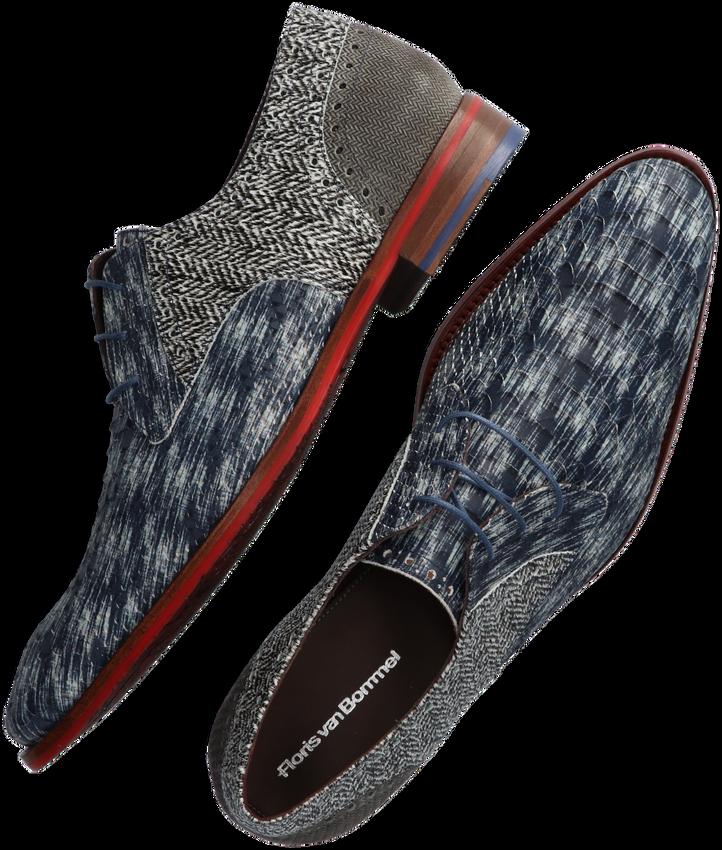 Zwarte FLORIS VAN BOMMEL Nette schoenen 18107  - larger