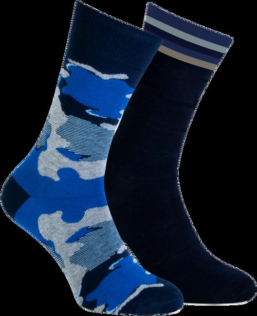 Blauwe MARCMARCS Sokken BENJAMIN  - large