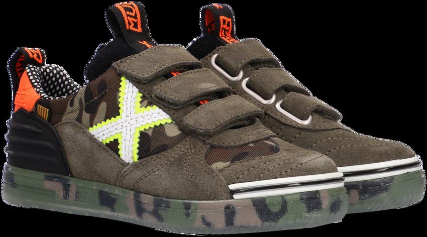 Groene MUNICH Lage sneakers G3 VELCRO  - larger