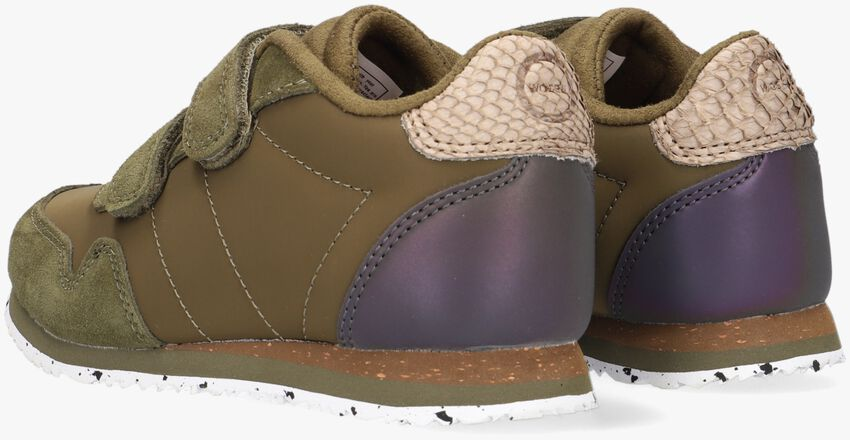 Groene WODEN Lage sneakers NOR SUEDE  - larger
