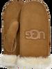 Camel UGG Handschoenen HERITAGE LOGO MITTEN - small