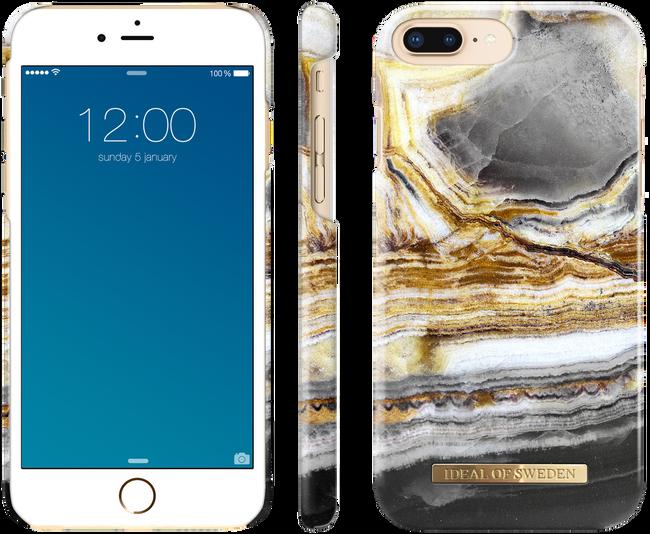 Gouden IDEAL OF SWEDEN Telefoonhoesje CASE IPHONE 8/7/6/6S PLUS - large