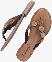Bruine LAZAMANI Slippers 75.451 - medium