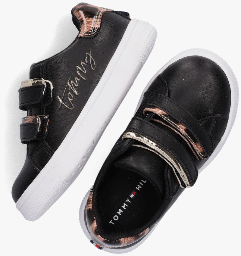 Zwarte TOMMY HILFIGER Lage sneakers 31156  - larger