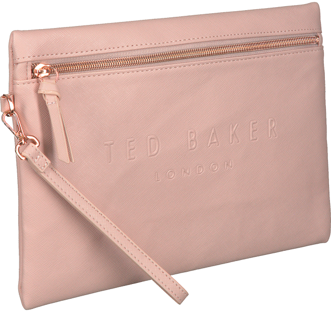 Roze TED BAKER Clutch IVAR  - large