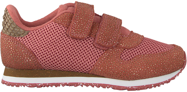 Roze WODEN Lage sneakers SANDRA PEARL MESH  - large