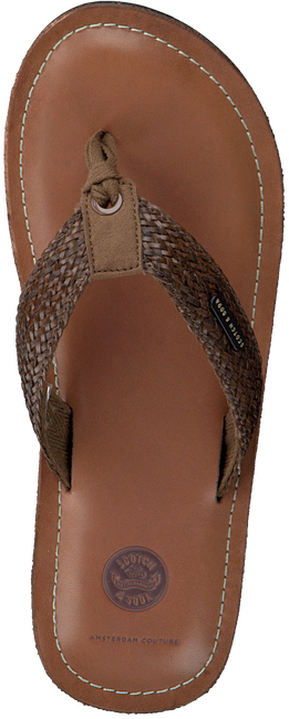 Bruine SCOTCH & SODA Slippers CADELLI  - large