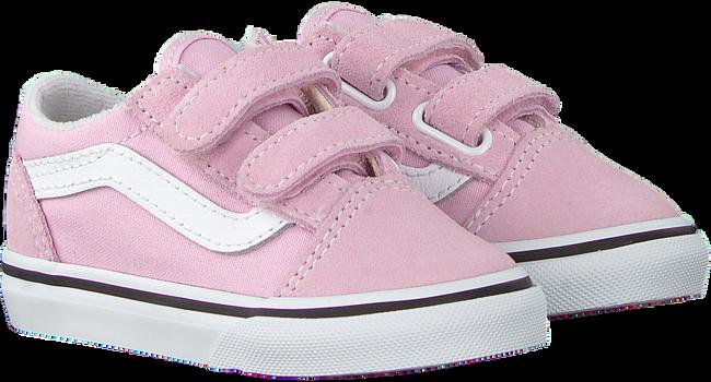 Roze VANS Lage sneakers TD OLD SKOOL V  - large