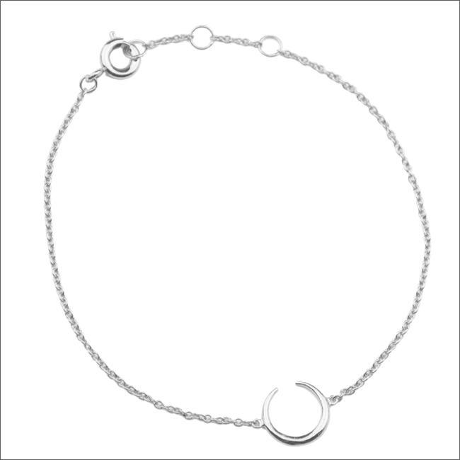 Zilveren ATLITW STUDIO Armband SOUVENIR BRACELET HORN - large
