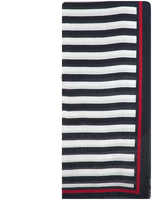 Zwarte TOMMY HILFIGER Sjaal SIGNATURE SQUARE  - medium
