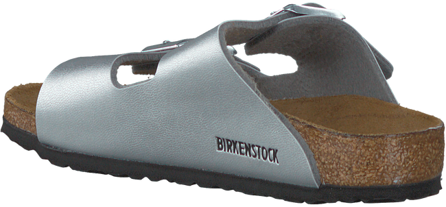 Zilveren BIRKENSTOCK PAPILLIO Slippers ARIZONA KIDS  - large