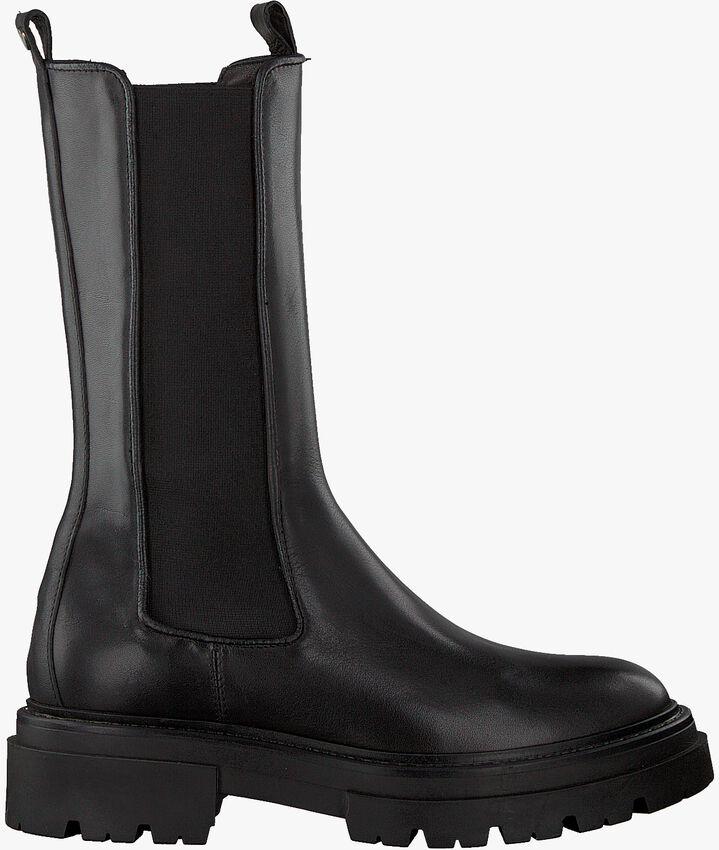 Zwarte NOTRE-V Chelsea boots 01-611  - larger